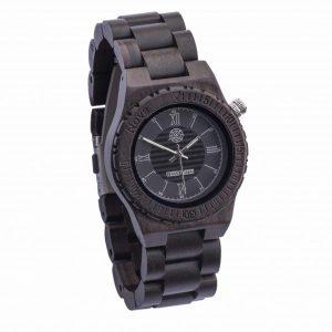 Fraai houten horloge